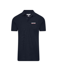 Subprime Polo Stripe Navy Blauw