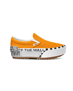 Ua Classic Slip-on Stacked (logo Stack) Bright Marigold/true White