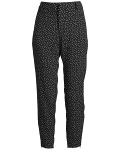 Nica No Rib Printed Pant Dot Black