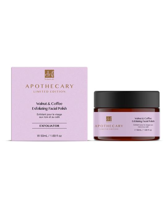 Dr Botanicals Walnut And Coffee Exfoliating Facial Polish Clear