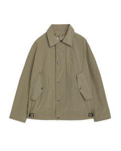 Lightweight Deck Jacket Dark Beige