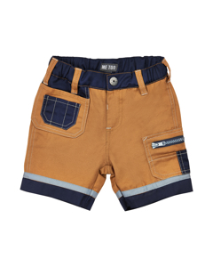 Bermuda Worker Shorts Almond