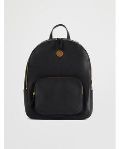 Mason Zip-around Backpack Black