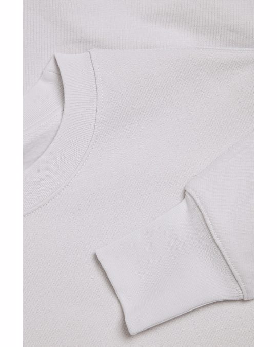 COS Relaxed Sweatshirt Dress Grey
