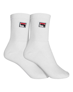 Fila Socks 2-pack White