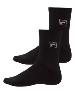 Fila Socks 2-pack Black