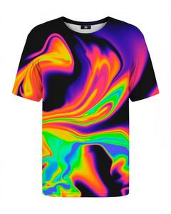 Mr. Gugu & Miss Go Holografic T-shirt Rainbow