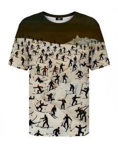 Mr. Gugu & Miss Go Skiers T-shirt Beige