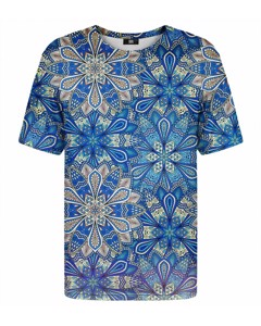Mr. Gugu & Miss Go Cold Stained Glass T-shirt Blue