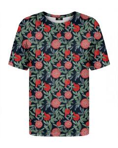 Mr. Gugu & Miss Go Pomegranates T-shirt Green