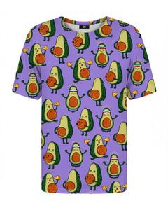 Mr. Gugu & Miss Go Avocado Purple T-shirt Iris