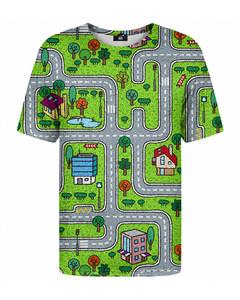 Mr. Gugu & Miss Go City Carpet T-shirt Green