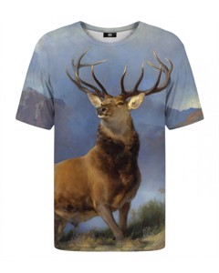Mr. Gugu & Miss Go The Monarch Of The Glen T-shirt Sky Blue