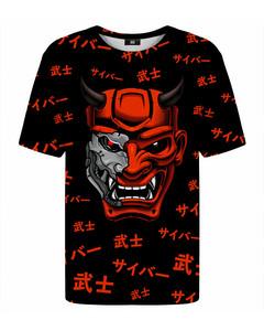 Mr. Gugu & Miss Go Cyber Samurai T-shirt Black