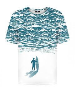 Mr. Gugu & Miss Go Ocean T-shirt White