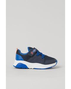 Sneakers Met Applicatie Blauw/robot