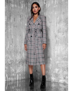 Ginnie Coat Checked