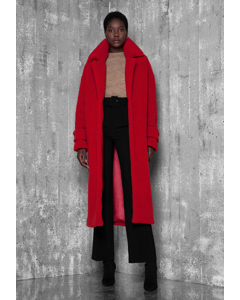 Calia Long Coat Red