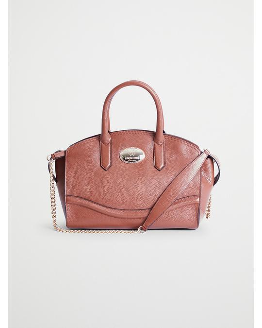 Roberto Cavalli 24h Handbag Cognac