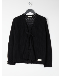 Sum Up Cardigan Black