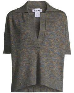 Crush Sweater Khaki Melange