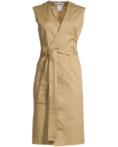 Trail Dress Beige