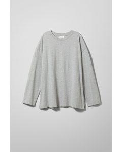 Chemina Printed Long Sleeve Grey