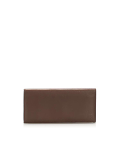 Givenchy Leather Card Holder Brown