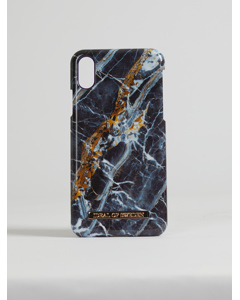 Fashion Case Iphone X Midnight Blue Marble