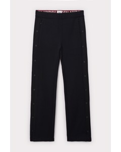 Snap Track Pants Black