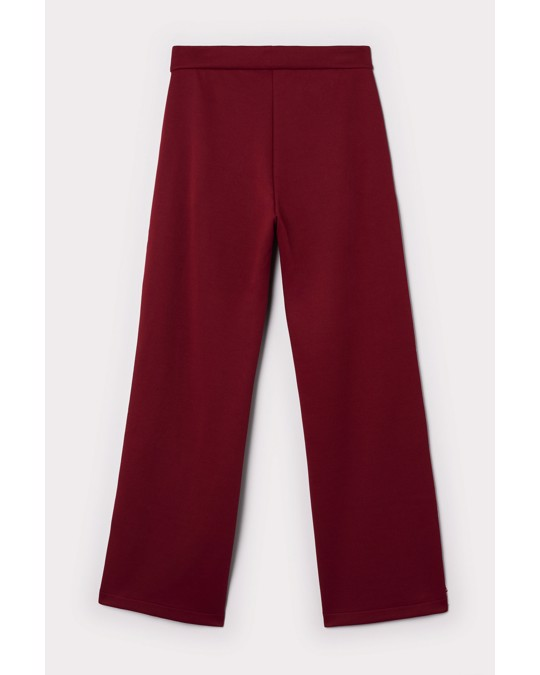 Nyden Snap Track Pants Red