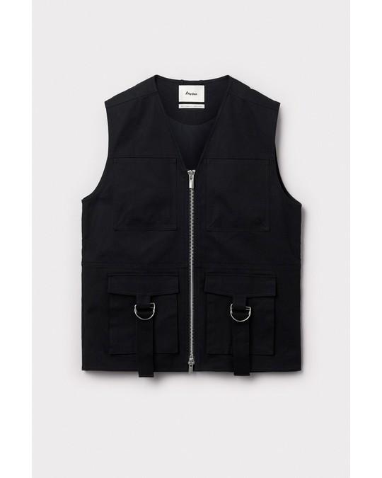 Nyden Utility Vest Black