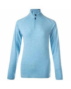Tearoa W Wool Midlayer Blue Topaz