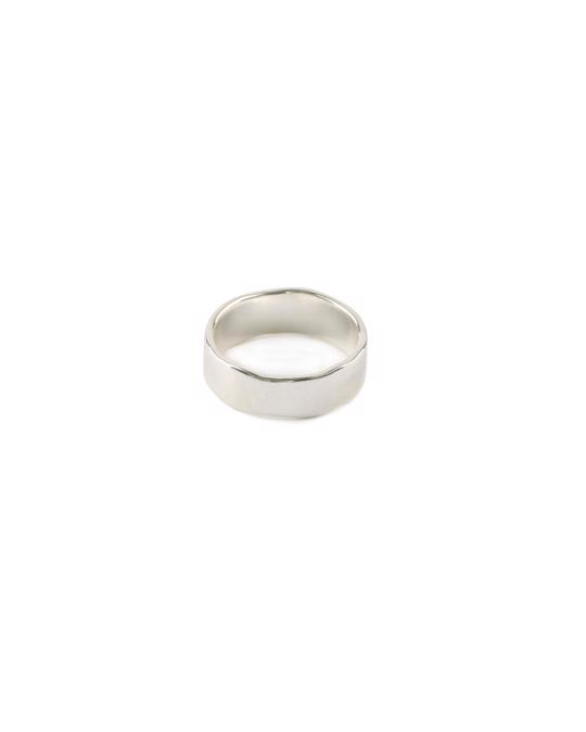 Syster P Kristine Plain Ring Silver