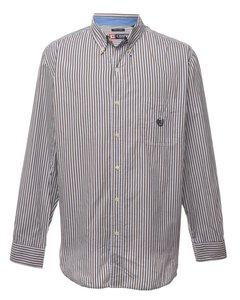1990s Chaps Striped Shirt