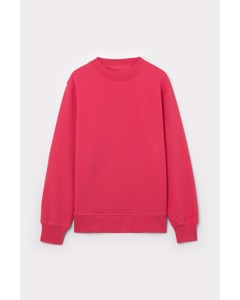 Regular Sweatshirt Red