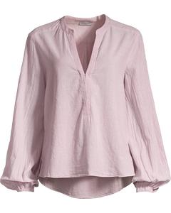 Oak Brook Stripe Tunic-stripe Dusty Pink