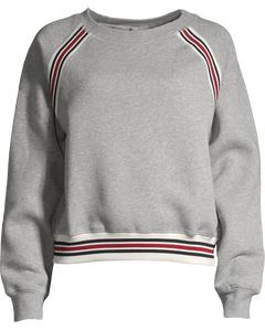 Delta Fleece Sweatshirt- Light Grey Melange