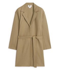 Wool Coat Beige