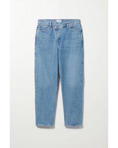 Deconstructed Jeans Galaxy Mittelblau