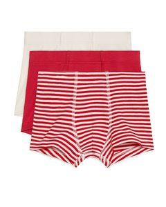 Jersey Trunks Red/beige