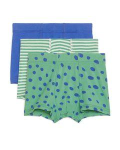 Jersey Trunks Green/blue