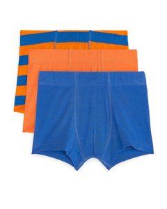 Jersey Trunks Orange/blue