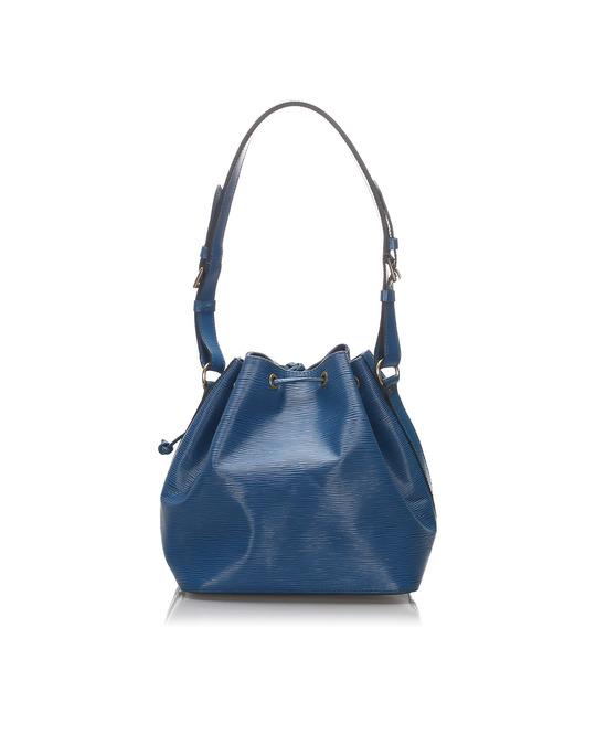 Louis Vuitton Louis Vuitton Epi Petit Noe Blue