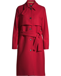 Whyred Coat Kate, Deep Red