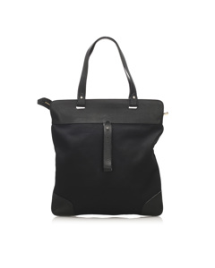 Burberry Canvas Tote Bag Black