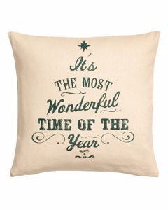 Grant Xmas Cushion Cover 40x40  Beige