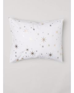 Sparkle Pillow Case 50x60 White