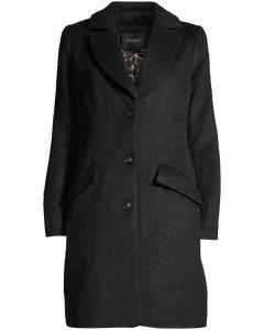 Denzil Wool Coat Black