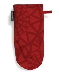Oven Glove Rosetti Red 150x30